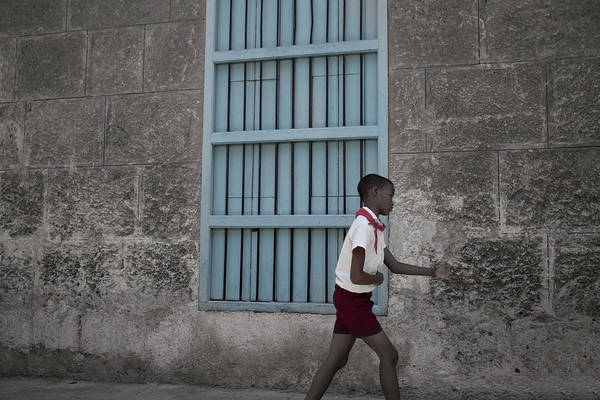 Photograph - Cuban Schoolboy by David Chasey