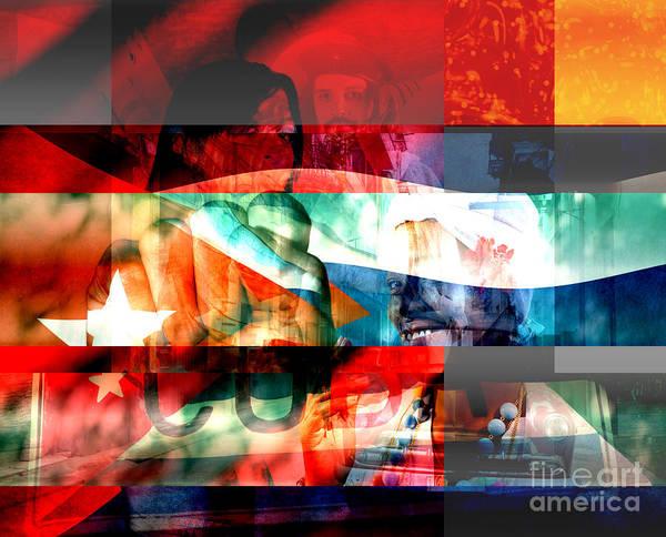 Digital Art - Cubana by John Rizzuto