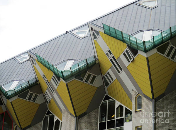 Cube House Wall Art - Photograph - Cube Houses 14 by Randall Weidner
