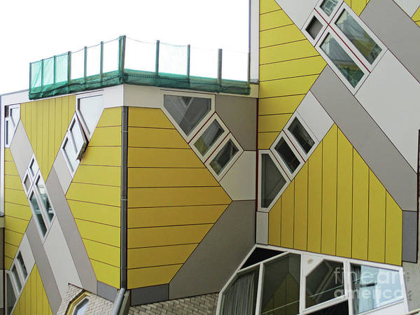 Cube House Wall Art - Photograph - Cube Houses 18 by Randall Weidner