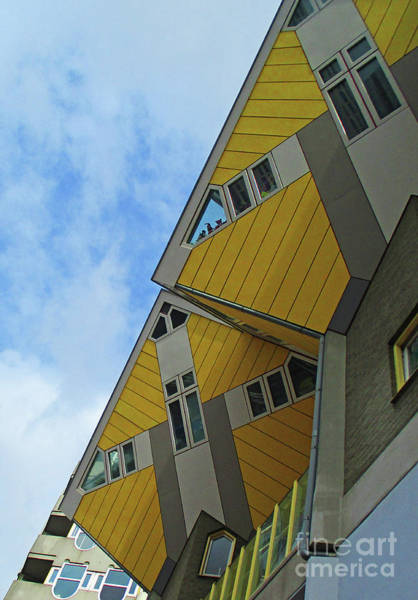 Cube House Wall Art - Photograph - Cube Houses 33 by Randall Weidner