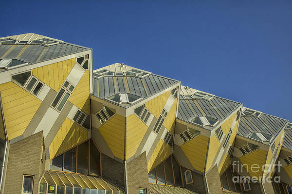 Cube House Wall Art - Photograph - Cube Houses In Rotterdam by Patricia Hofmeester