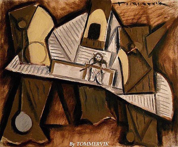 Wall Art -  - Cubism Ewok Village by Tommervik
