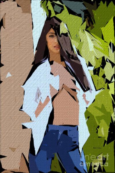 Digital Art - Cubism Series 690 by Rafael Salazar