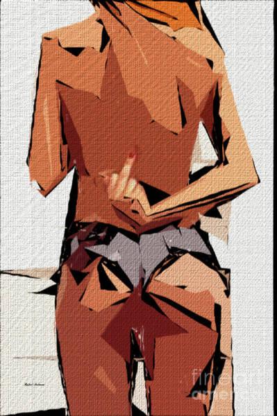Digital Art - Cubism Series 705 by Rafael Salazar