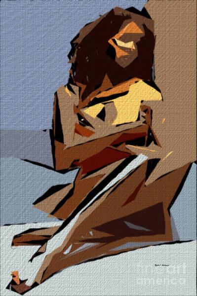 Digital Art - Cubism Series 800 by Rafael Salazar
