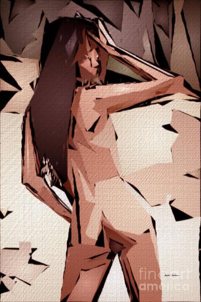 Digital Art - Cubism Series 826 by Rafael Salazar