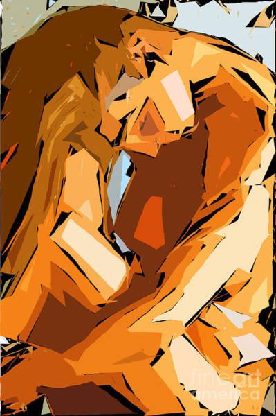 Digital Art - Cubism Series Ix by Rafael Salazar