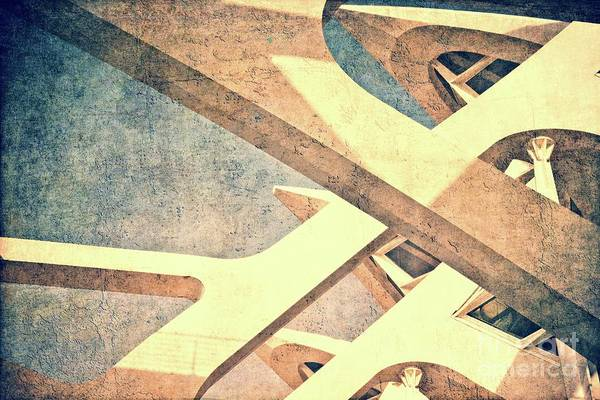 Wall Art - Photograph - Cubist - Valencia by Mary Machare