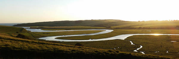 Digital Art - Cuckmere Panorama by Julian Perry