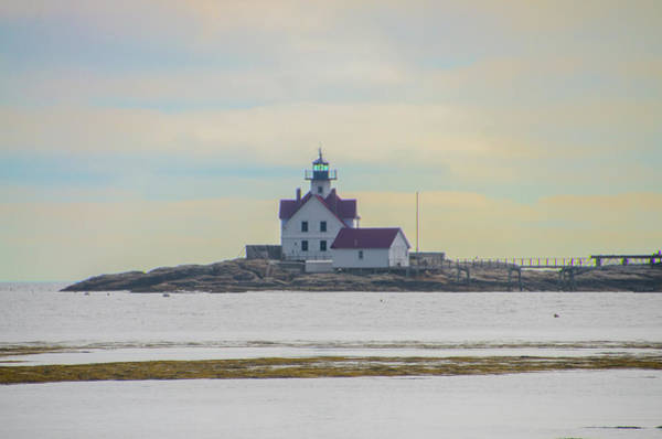 Photograph - Cuckolds Fog Signal And Light Station - Southport Maine by Bill Cannon