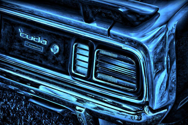 Mopar Photograph - 'cuda By Plymouth by Gordon Dean II