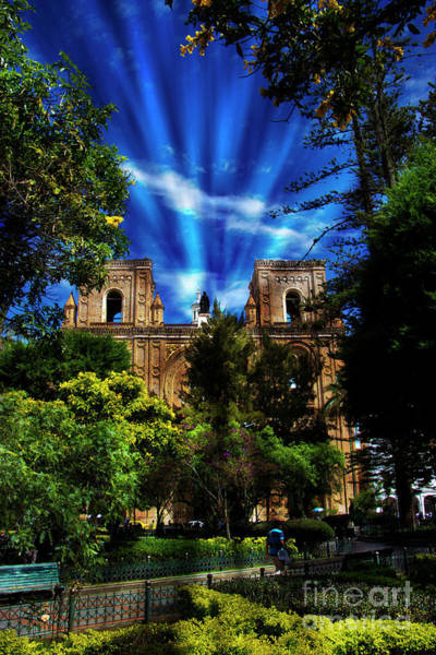Wall Art - Photograph - Cuenca Is Blessed by Al Bourassa