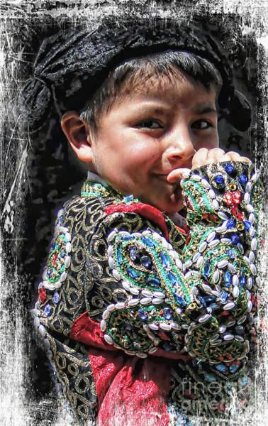 Matador Photograph - Cuenca Kids 1006 by Al Bourassa