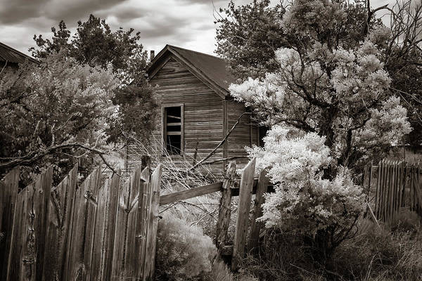 Ghosttown Photograph - Cuervo 4 by James Barber
