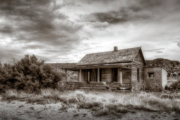 Ghosttown Photograph - Cuervo 6 by James Barber