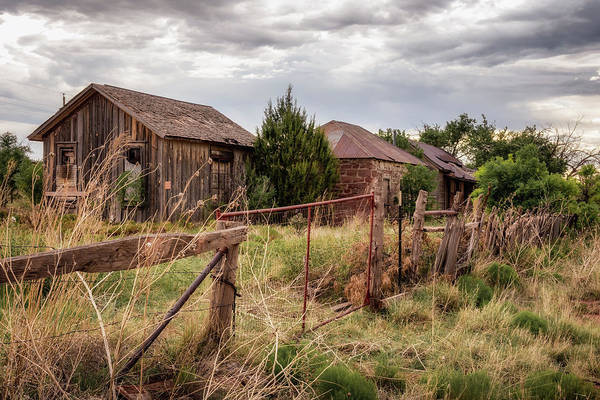 Ghosttown Photograph - Cuervo 7 by James Barber
