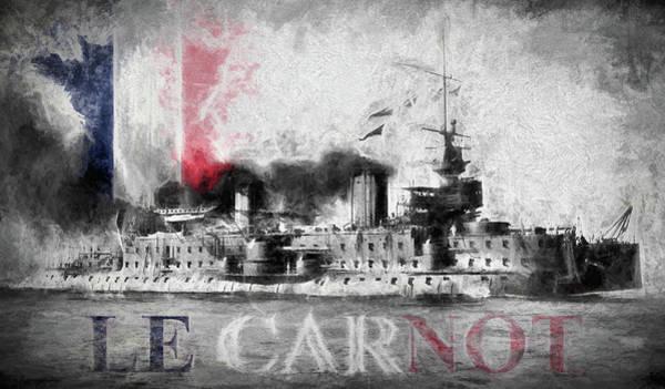 Digital Art - Cuirasse Carnot by JC Findley