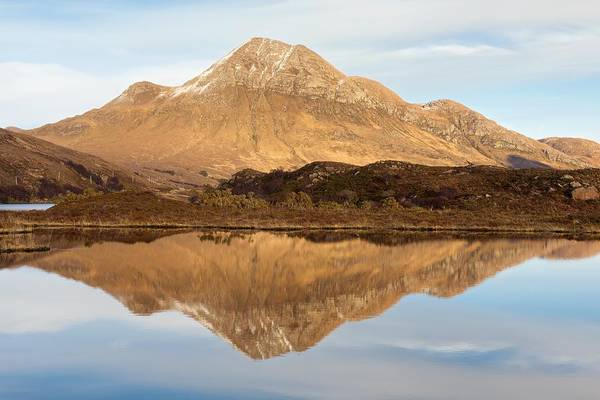 Photograph - Cul Beag Reflection by Stephen Taylor