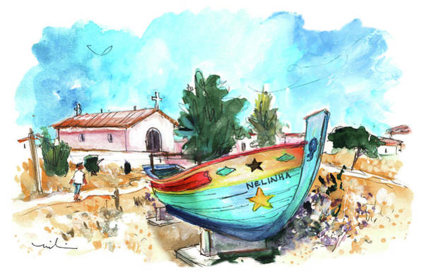 Wall Art - Painting - Culatra Island 02 by Miki De Goodaboom