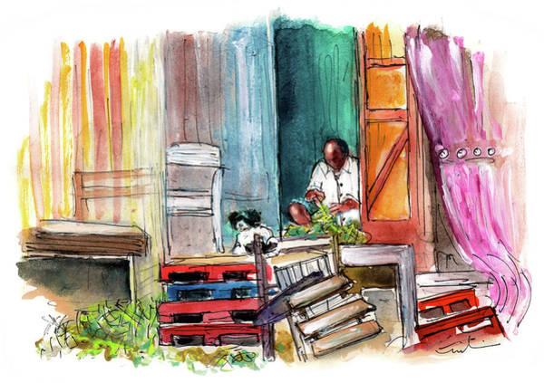 Painting - Culatra Island 09 by Miki De Goodaboom