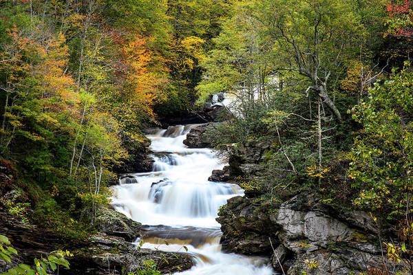 Photograph - Cullasaja Falls by David Morefield