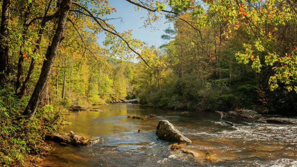 Photograph - Cullasaja River Nc by Rob Hemphill