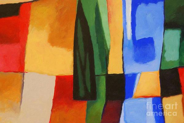 Painting - Cultura by Lutz Baar