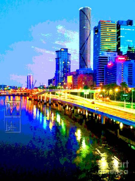 Queensland Digital Art - Cultural Bridge by Paula Deacon