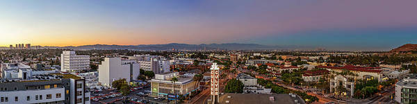 Photograph - Culver City At Dusk by Kelley King