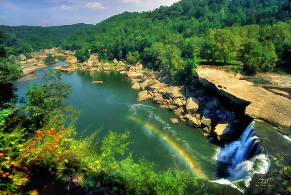 Photograph - Cumberland Above The Falls by Sam Davis Johnson