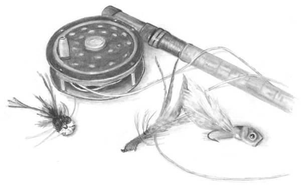 Drawing - Cumberland Dreams - Royal Coachman Chapter 14 by Marsha Karle