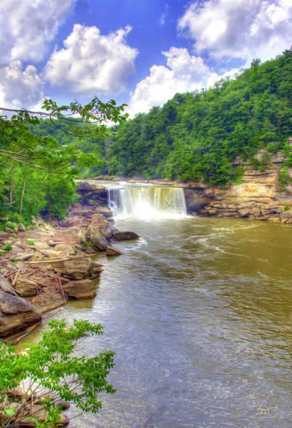 Photograph - Cumberland Falls 5 by Sam Davis Johnson
