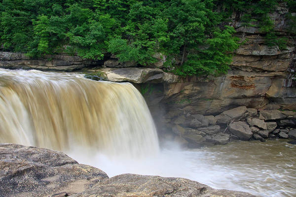 Photograph - Cumberland Falls In Ky by Jill Lang