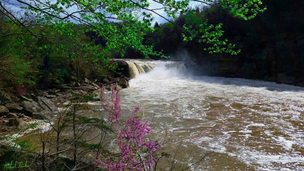 I-75 Photograph - Cumberland Falls by Michael Rucker