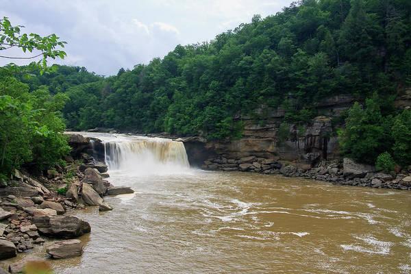 Photograph - Cumberland Falls Near Corbin, Kentucky by Jill Lang
