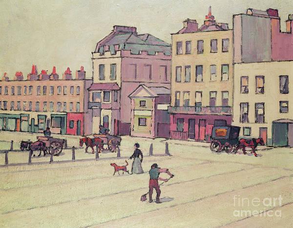 Wall Art - Painting - Cumberland Market  by Robert Polhill Bevan
