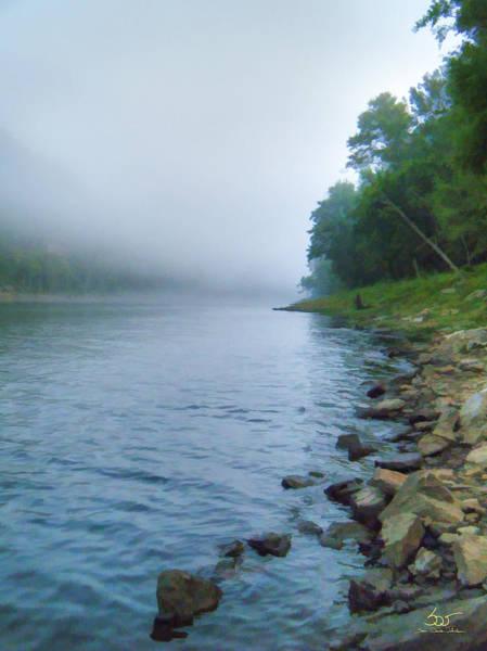 Photograph - Cumberland River At Wolfe Creek Dam by Sam Davis Johnson