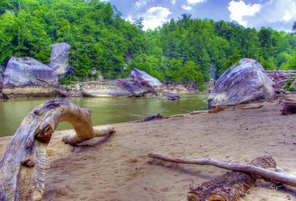 Photograph - Cumberland River Below The Falls by Sam Davis Johnson