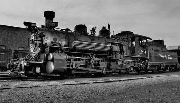 Chama Photograph - Cumbres And Toltec Engine by Neil McCarver