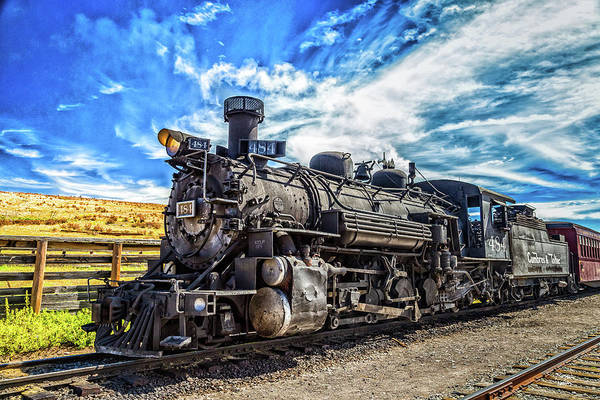 Chama Photograph - Cumbres And Toltec Locomotive by Gestalt Imagery