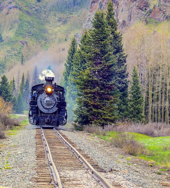 Cumbres Toltec  Train Art Print by Larry Bodinson