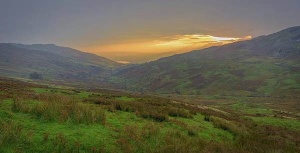 Wall Art - Photograph - Cumbrian Sunset. by Angela Aird