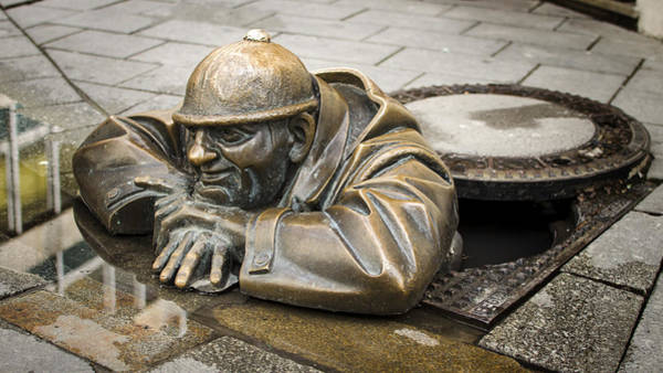 Bratislava Photograph - Cumil by Heather Applegate