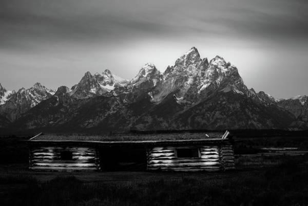Photograph - Cunningham Cabin by TL  Mair