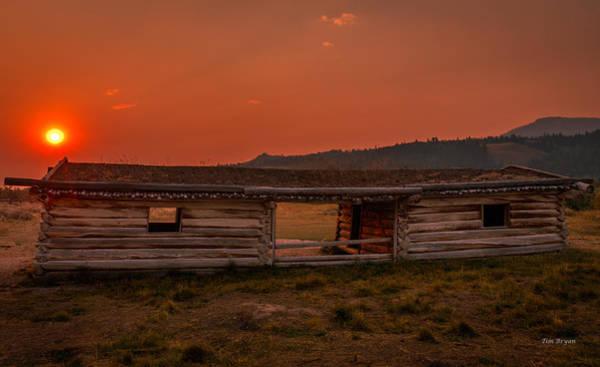 Photograph - Cunningham's Cabin  by Tim Bryan