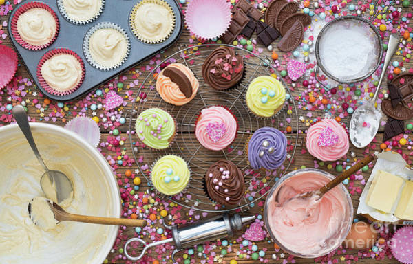 Photograph - Cupcake Mess by Tim Gainey