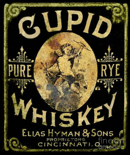 Wall Art - Photograph - Cupid Whiskey by Jon Neidert