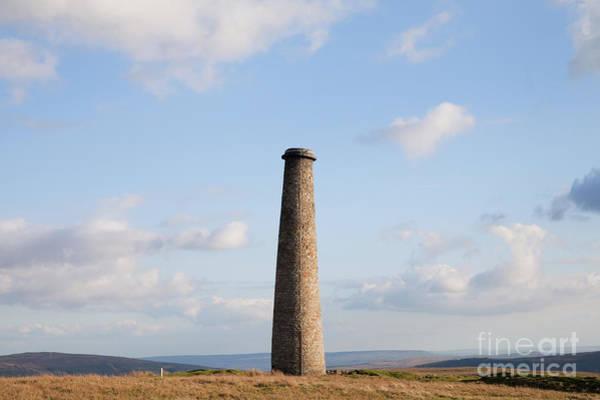 Grassington Photograph - Cupola Smelt Mill Chimney by Gavin Dronfield