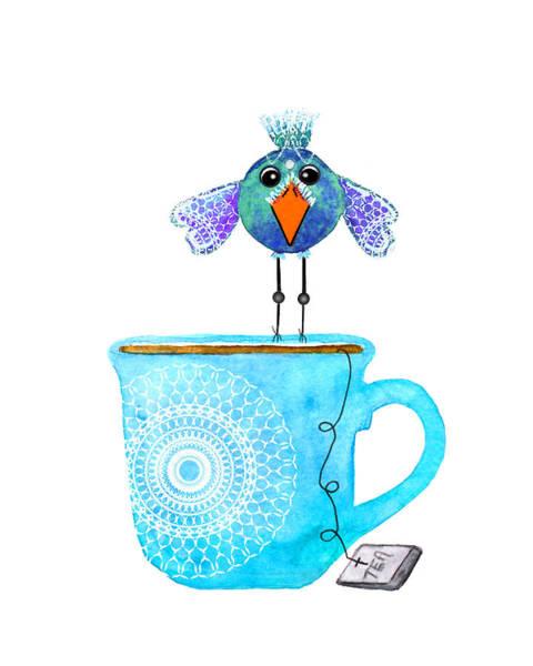 Tea Wall Art - Digital Art - Cuppa Series - Tea Taster by Moon Stumpp